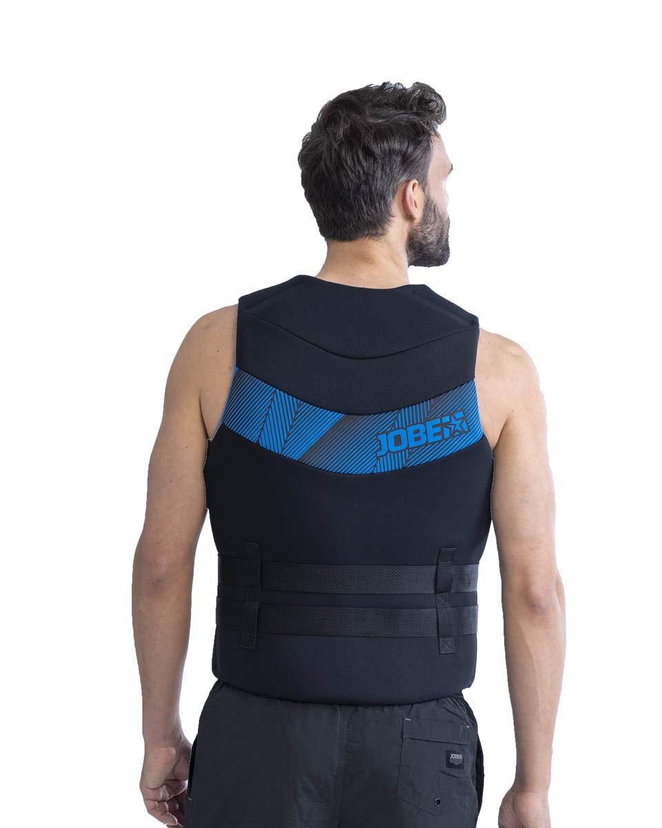 Jobe Neopren Vest Men Prallschutz Schwimmweste Wakeboard Wasserski Blue