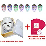 Missammy LED Photon Face&Neck Mask 7 Colors Facial Skin Rejuvenation Beauty Therapy Anti-Aging Wrinkle Reduce