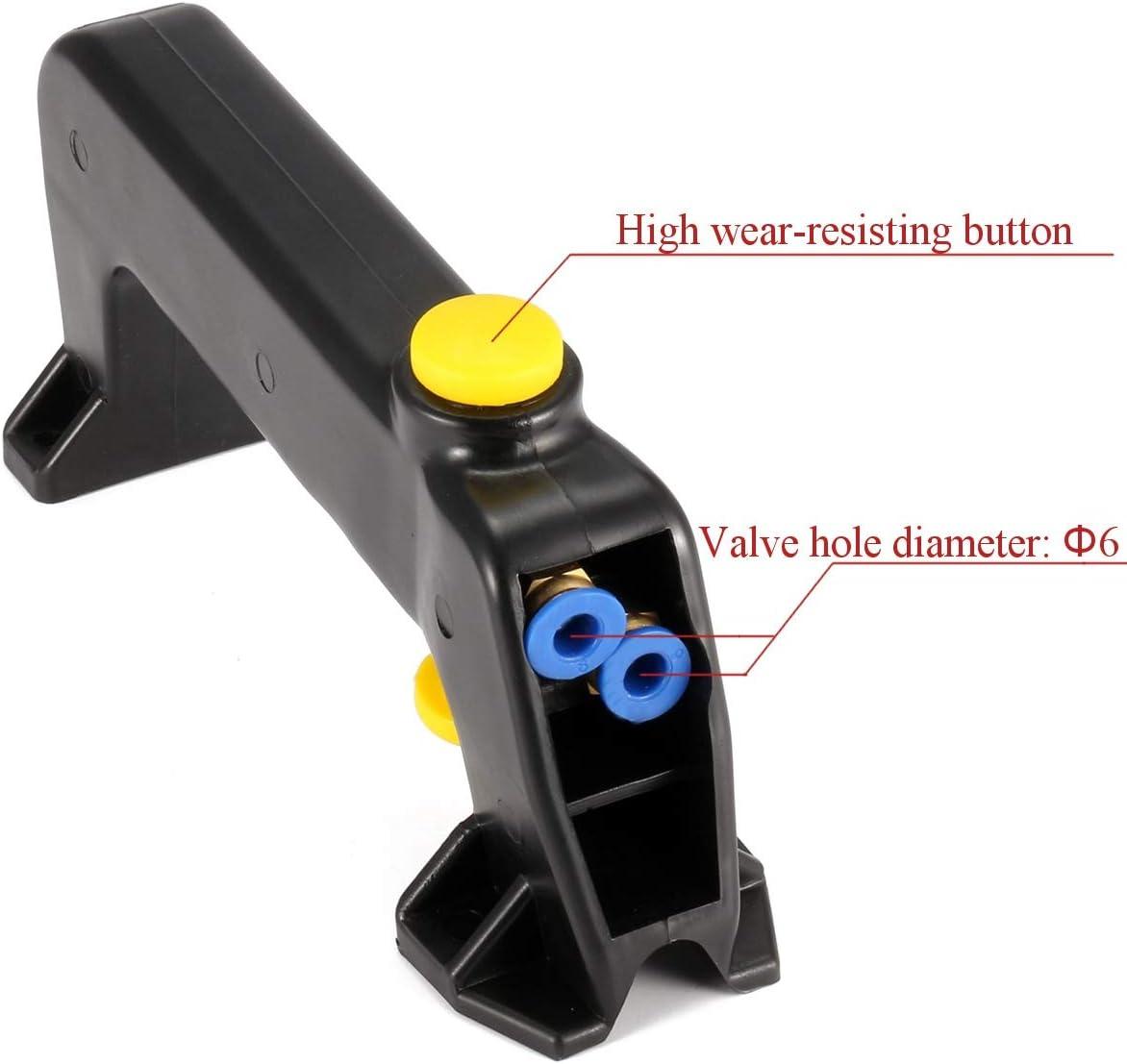 Naliovker Desmontaje de Neum/áTicos Cambiador de Neum/áTicos Accesorios de la M/áQuina Manejar de Eje Vertical V/áLvula de Dos Orificios Interruptor V/áLvula Manija