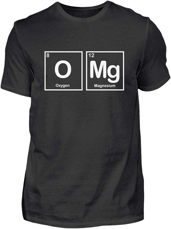 Fórmula química OMG – Camiseta para profesores químicos, escuela, ciencia, regalo, divertidos frases: Amazon.es: Ropa y accesorios