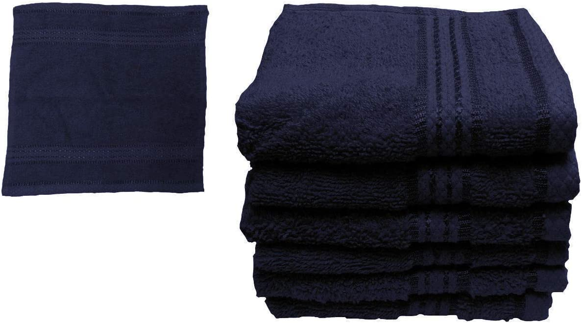 Bath Sheet 500GSM 30x30cm Hand Bath Towels MiMis Warehouse Collection 100/% Soft Egyptian Cotton Face Cloth Guest Black, 2X Face Towel