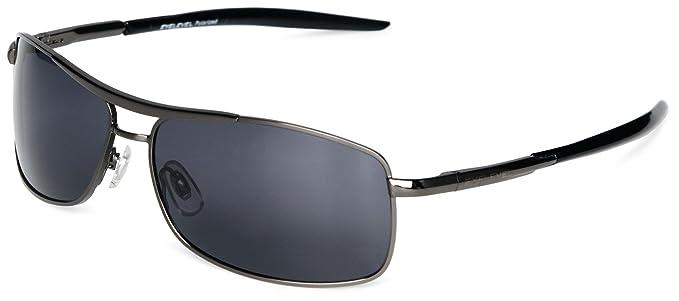 Eyelevel Tuscany 2 - Gafas de sol polarizadas unisex, color gris, talla única: Amazon.es: Ropa y accesorios