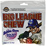 The Official Big League Chew Original Bubble Gum + Tray (12 Packs)
