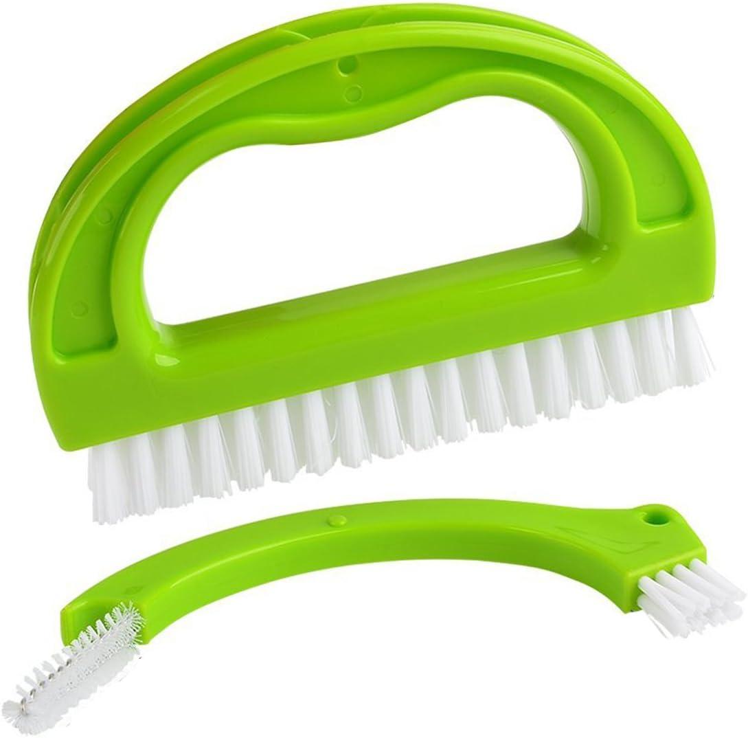 cocinas y hogar 2 Cepillos para limpieza de juntas en ba/ños Limpia a fondo las juntas de las baldosas y azulejos y elimina el moho superficial