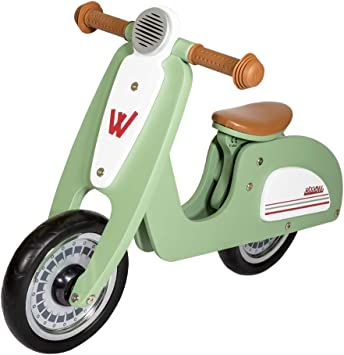 WOOMAX - Bici sin pedales de madera Scooter 10