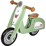 WOOMAX - Scooter 10 Bici sin Pedales en Madera, Color Multicolor, 85378