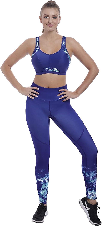Freya Womens Epic Crop Top Underwire Sports Bra