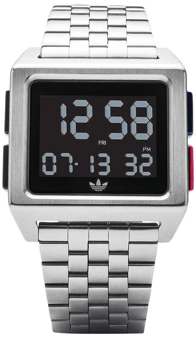 Adidas by Nixon Reloj Hombre de Digital con Correa en Acero Inoxidable Z01-2924-00