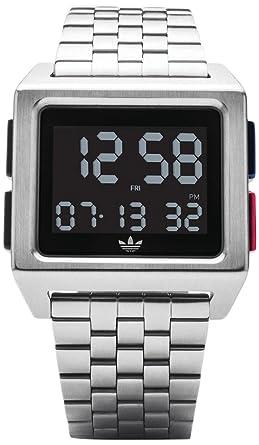 Adidas by Nixon Reloj Hombre de Digital con Correa en Acero Inoxidable Z01-2924-00: Amazon.es: Relojes