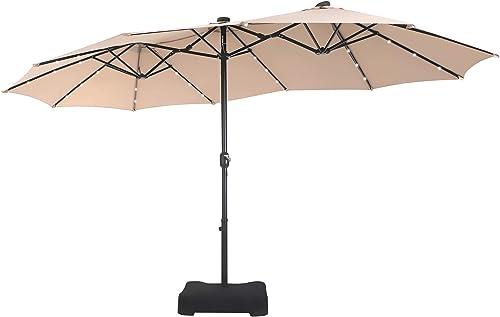 MFSTUDIO Outdoor Patio Table Umbrella