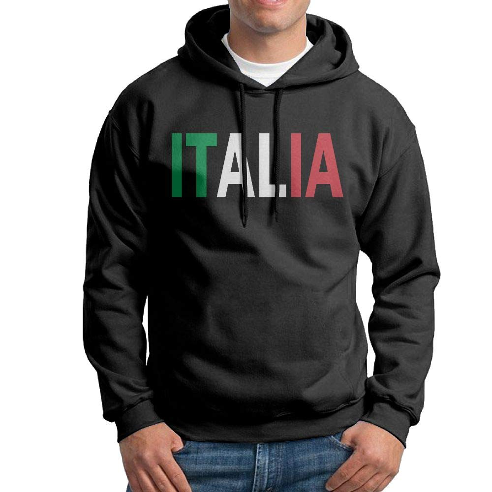 Warm Italia Cotton Outwear for Mens Vtw24i-5 Mens Pullover Hoodie