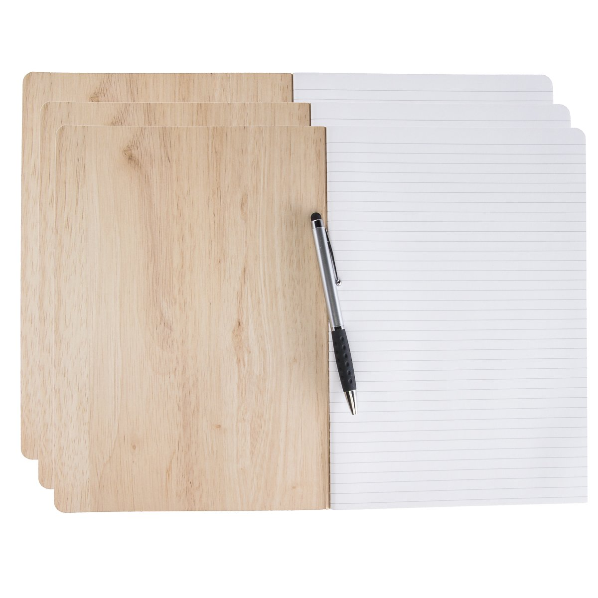 """George Stanley (3 Pack) Journals to Write in 10 x 7"""" Notebook Soft Cover Ruled 120 Lined Pages Bulk by George Stanley (Image #2)"""