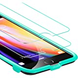 ESR iPhone 8 Plus / 7 Plus Screen Protector, [2-Pack] Force Resistant Up to 22 Pounds Tempered Glass with Free Self-Installation Kit, Case Friendly for iPhone 8 Plus / 7 Plus / 6s Plus / 6 Plus