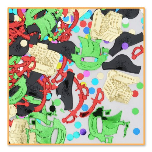 Pirate Party Confetti (Pack of 96) by Beistle