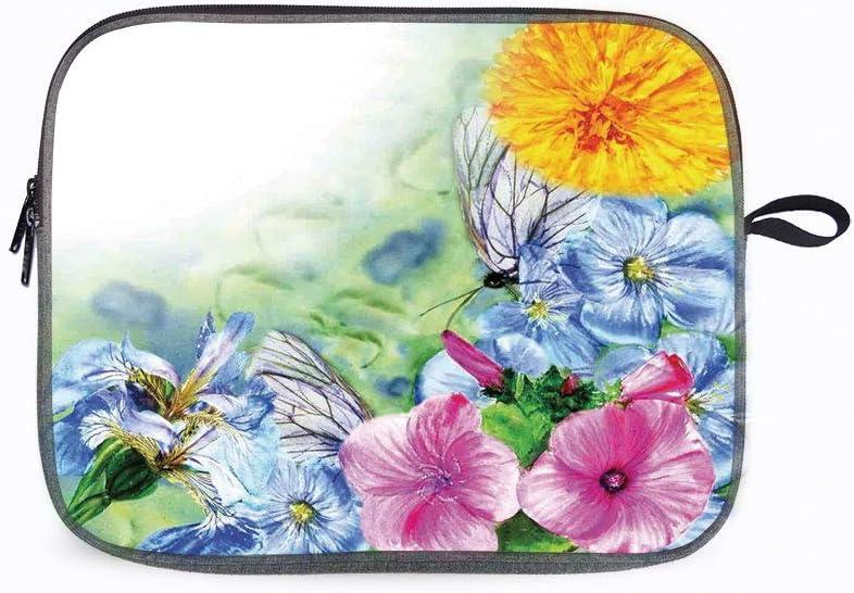 "Watercolor Flower Surreal Petals 13"" Laptop Sleeve Bag Compatible with MacBook Pro,MacBook Air,Noteb"