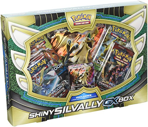 Pokemon TCG: Shiny Silvally Gx Premium Collection Box