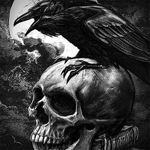 Skinit Skull & Bones Envy 17t (2018) Skin - Alchemy - Poe's Raven Design - Ultra Thin, Lightweight Vinyl Decal Protection by Skinit (Image #3)