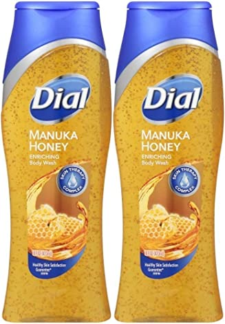 NEW.Dial Manuka Honey Body Wash 16 Ounce (2Pack)