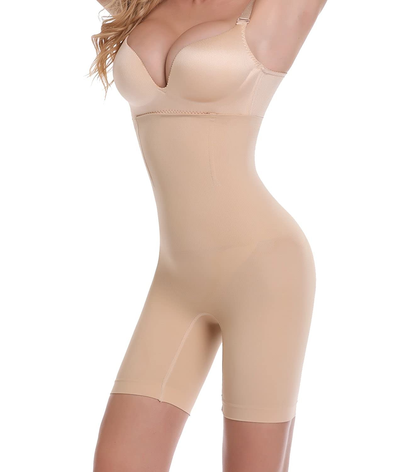 SEXYWG Butt Lifter Panties Padded Enhancer Shapewear Tummy Control Body Shaper SGSF5618-CA