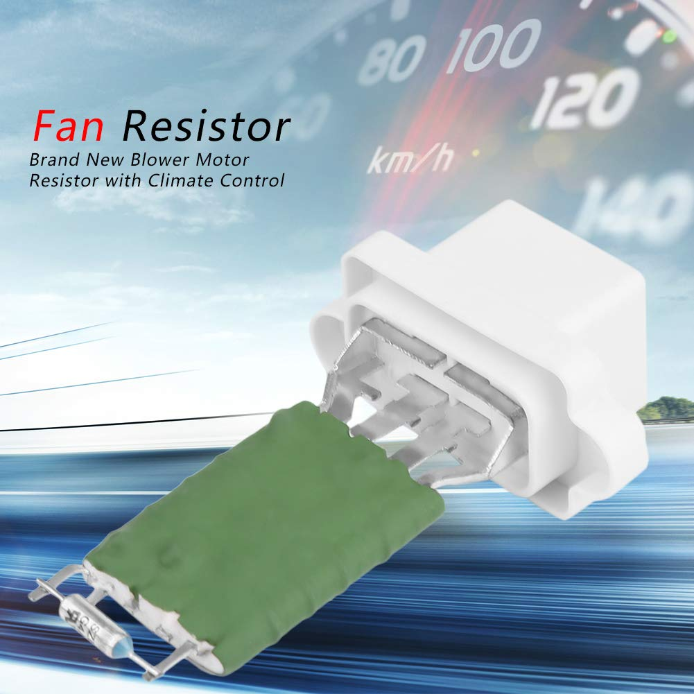 Blower Motor Resistor,Motor Heater Fan Blower Control Resistor for C-Max Fiesta Focus Mondeo S-MAX 1325972
