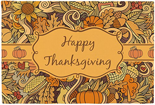 Mom Innovations Thanksgiving Placemat (Fabric) (Personali...