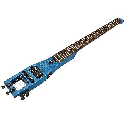 D2D Anygig Guitarra eléctrica de Viaje 24 diapasón portátil Matte ...