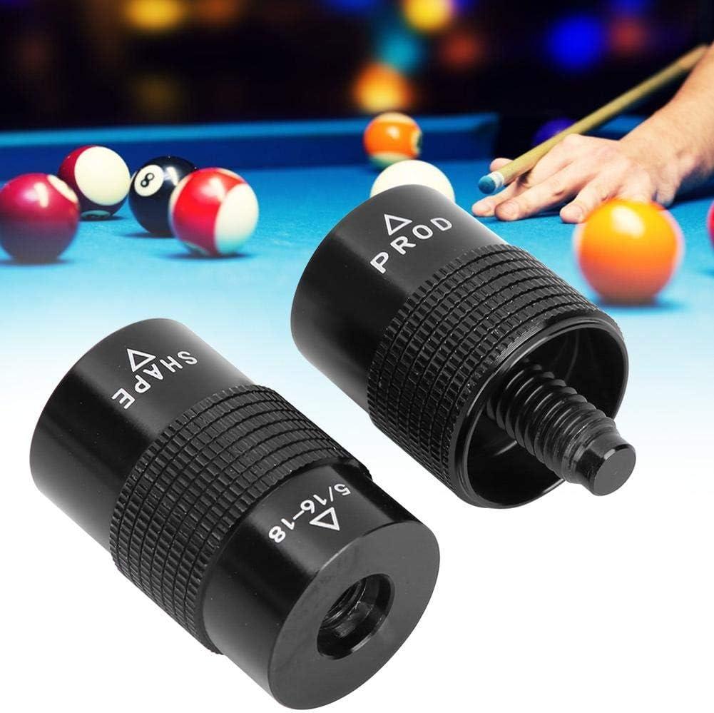 Alomejor Cue Tip Tool 4-en-1 Pool Cue Tip Kit de reparación Billar Shaper Tool Snooker Cue Tips Shaper Scuffer: Amazon.es: Deportes y aire libre