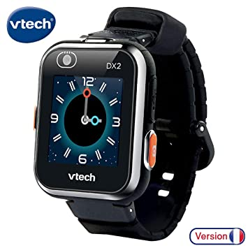VTech- Kidizoom Smartwatch Connect DX2 Noire Reloj, Color Negro (193865)