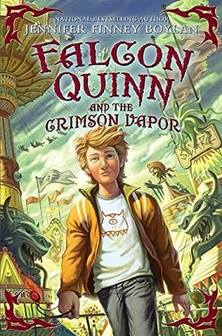 book cover of Falcon Quinn and the Crimson Vapor