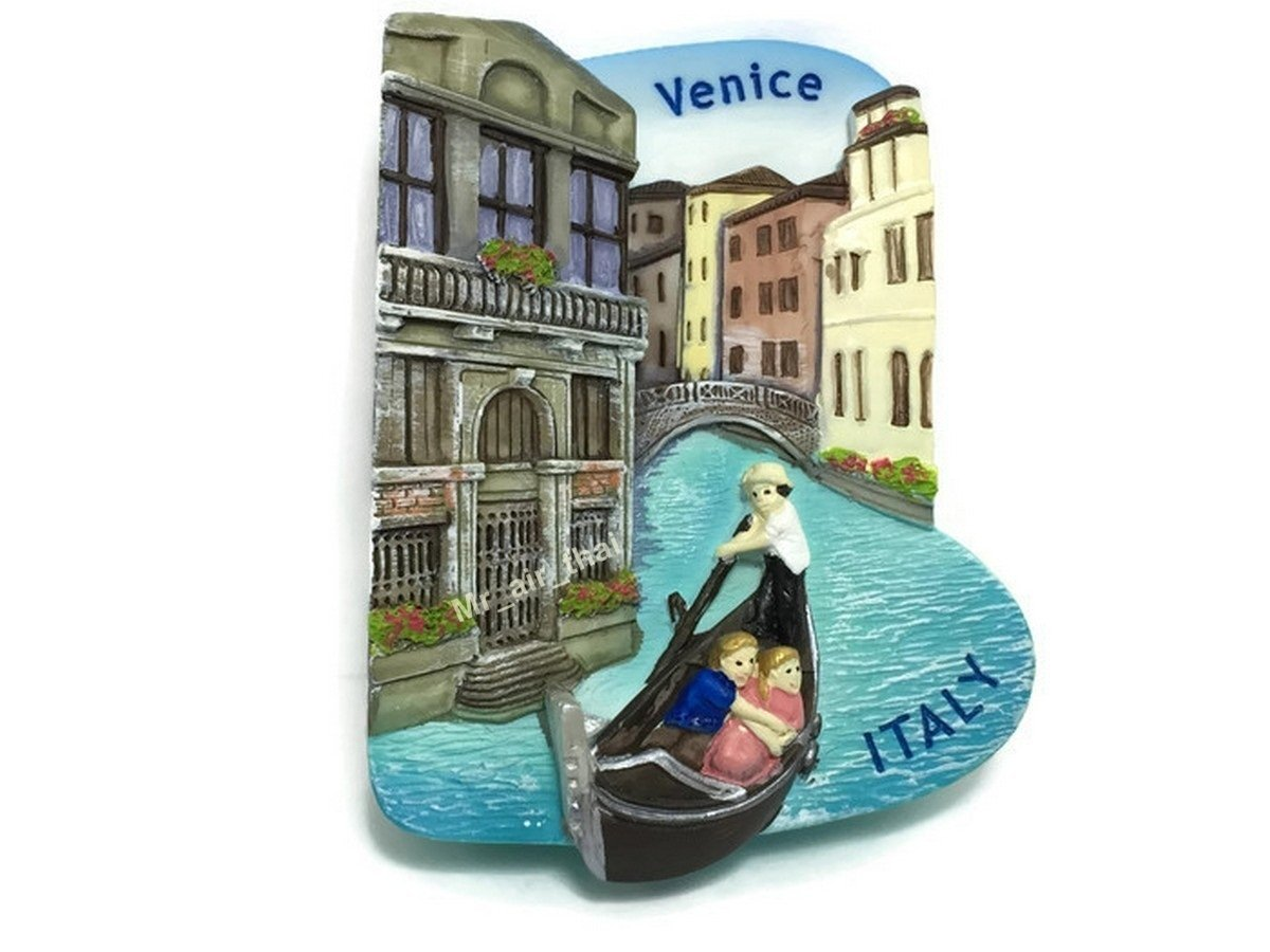 Gondola Venice, ITALY SOUVENIR RESIN 3D FRIDGE MAGNET SOUVENIR TOURIST GIFT by Mr_air_thai_Magnet_World
