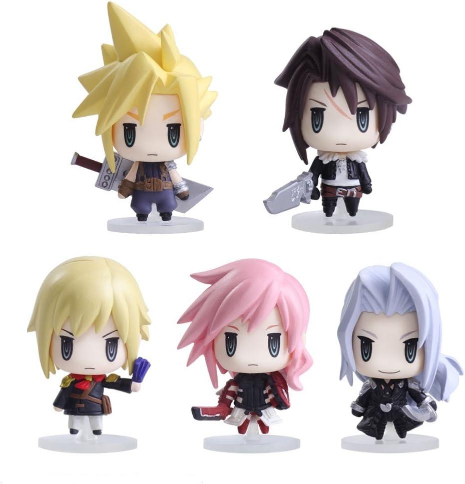 3 Square Enix Final Fantasy Trading Arts mini figure vol