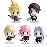 Mini Set di 5 Action Figure - Final Fantasy - Trading Arts Kai
