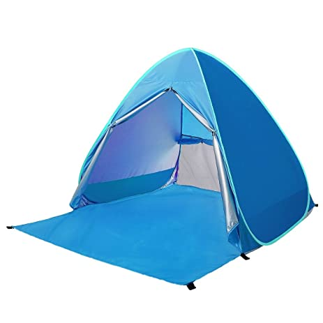 Geekercity Outdoor Automatic Pop Up Beach Tent with Carry Bag Lightweight Portable Cabin C&ing Tent  sc 1 st  Amazon.com & Amazon.com : Geekercity Outdoor Automatic Pop Up Beach Tent with ...