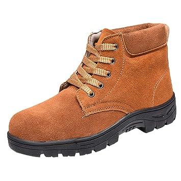 D DOLITY Botas De Trabajo De Seguridad, Zapatos DeHerramientas Eléctricas Suministros de Trabajo Fabril -