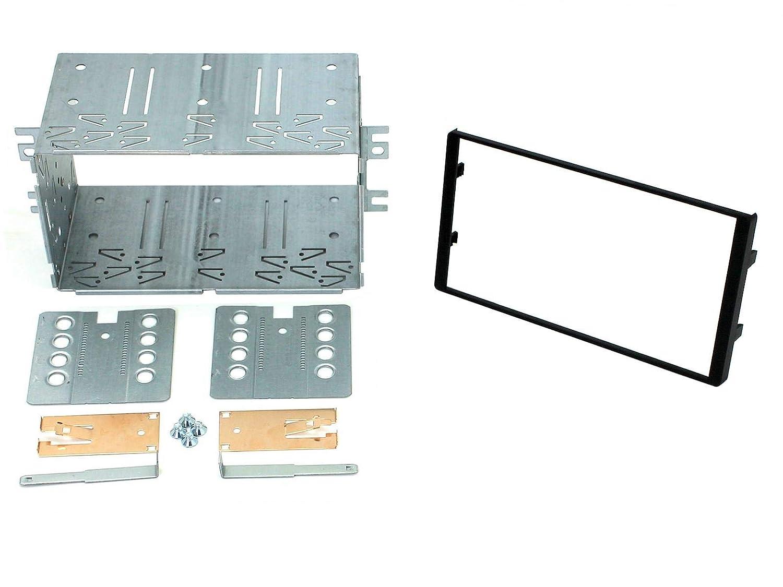 T1 Audio T1-23KI16 Double DIN Facia Plates Kia Sportage Black