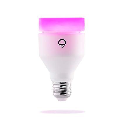 Lifx - Bombilla LED inteligente, ajustable, Wifi, multicolor, regulable, no requiere