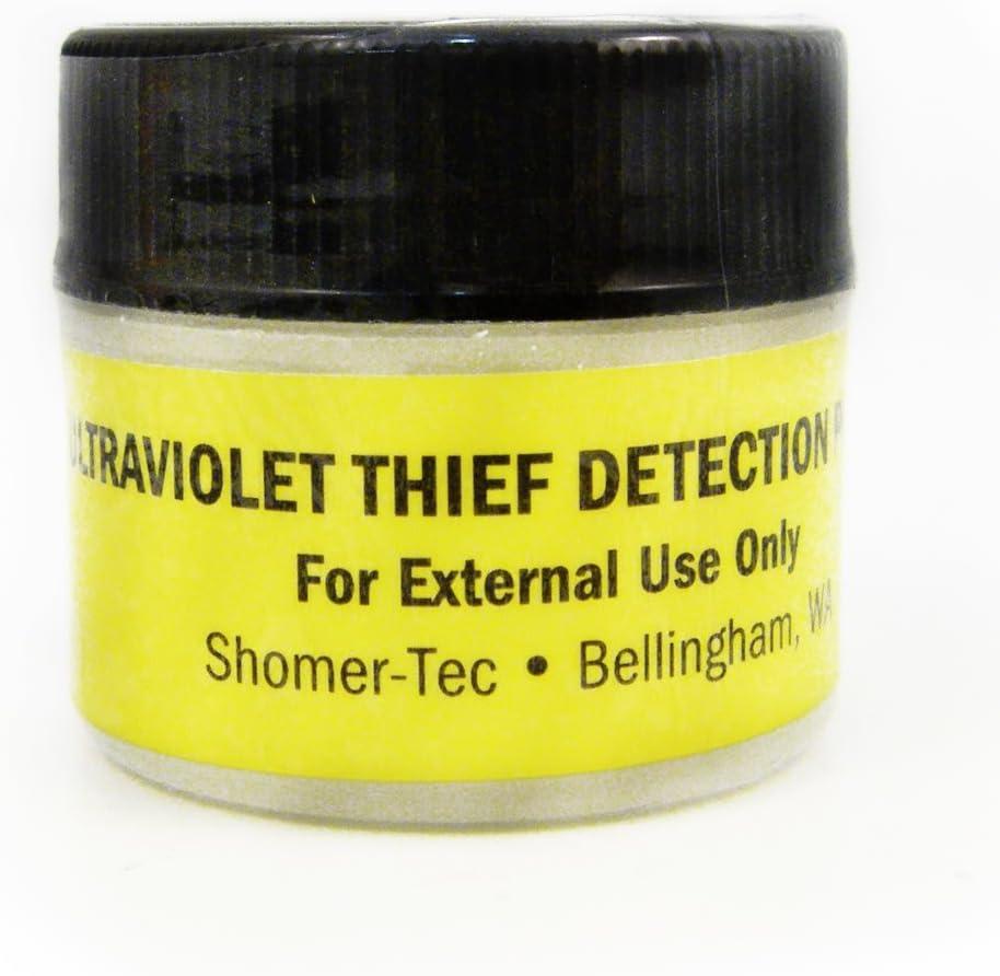 Shomer-Tec Ultraviolet Thief Detection Powder