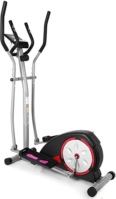 side facing ancheer elliptical trainer