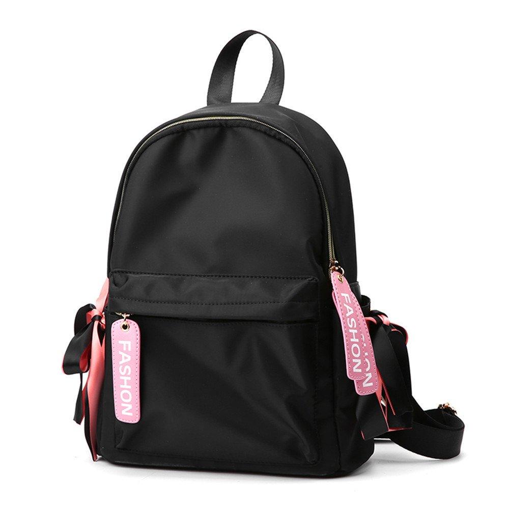 Backpack/Waterproof Backpack College Vintage Travel Bag for Women Laptop for Student,black,36x30x14CM