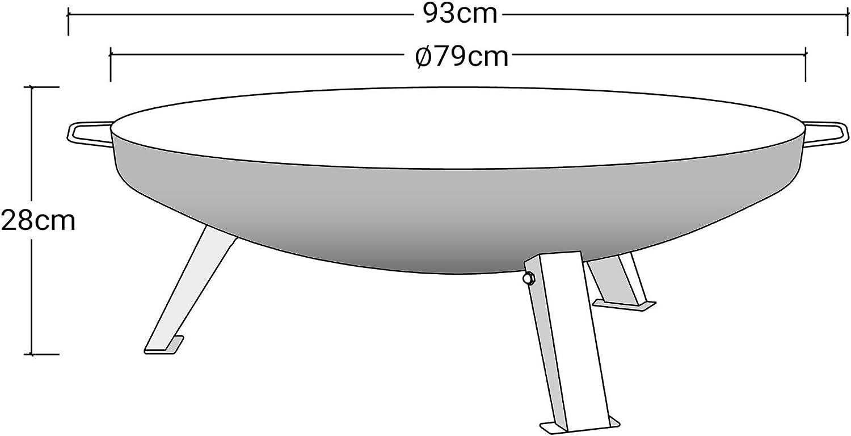 köhko Brasero, Diámetro 80 cm, para construir