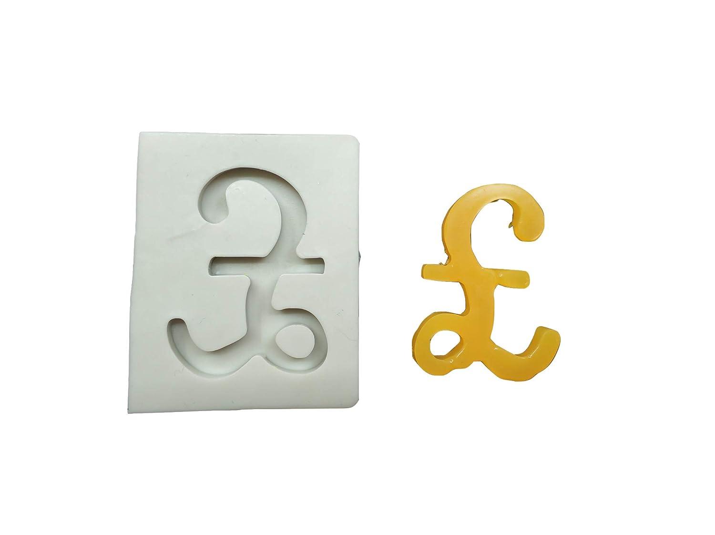 Molde de silicona para fondant con símbolo de dólar: Amazon.es: Hogar