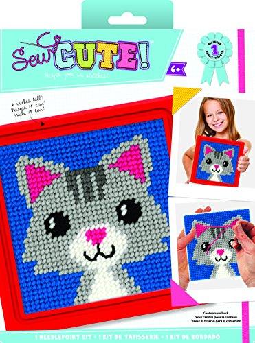 Colorbok Sew Cute Needlepoint Lola Cat