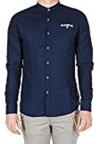 outfit italia - Camisa casual - para hombre turquesa Medium ...