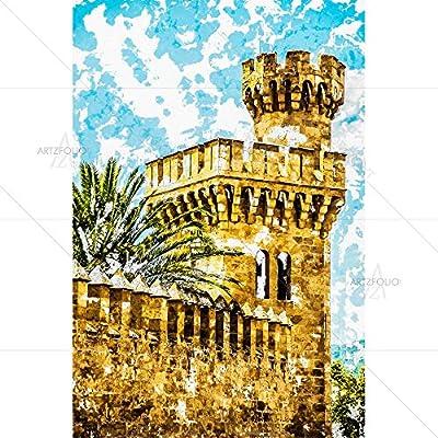 Artzfolio Almudaina Palace In Palma De Mallorca, Spain ...