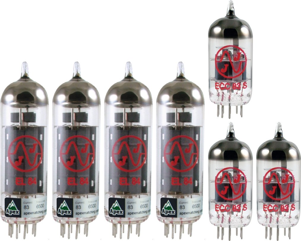 Tube Complement for Peavey Classic 30