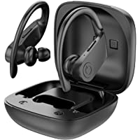 PowerPro Sport Wireless Earbuds - [Upgraded] Powerbeats Pro Style Bluetooth 5.0 Headphones True Wireless IPX7 Waterproof 50H Playtime in-Ear Stereo Earphones with Charging Case for Running Workout Gym