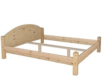 d09f868cb7 Loft 24 A/S Bett 140 x 200 cm Holzbett Bettrahmen Doppelbett Bettgestell  Landhaus Kiefer