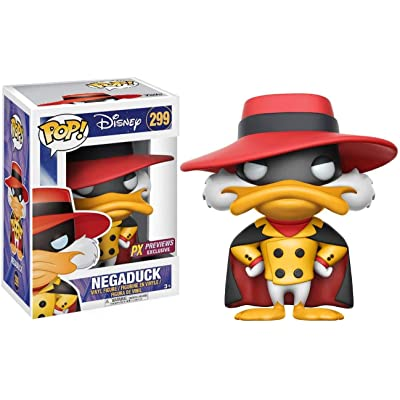 Funko Pop! Darkwing Duck: Negaduck Vinyl Figure: Toys & Games