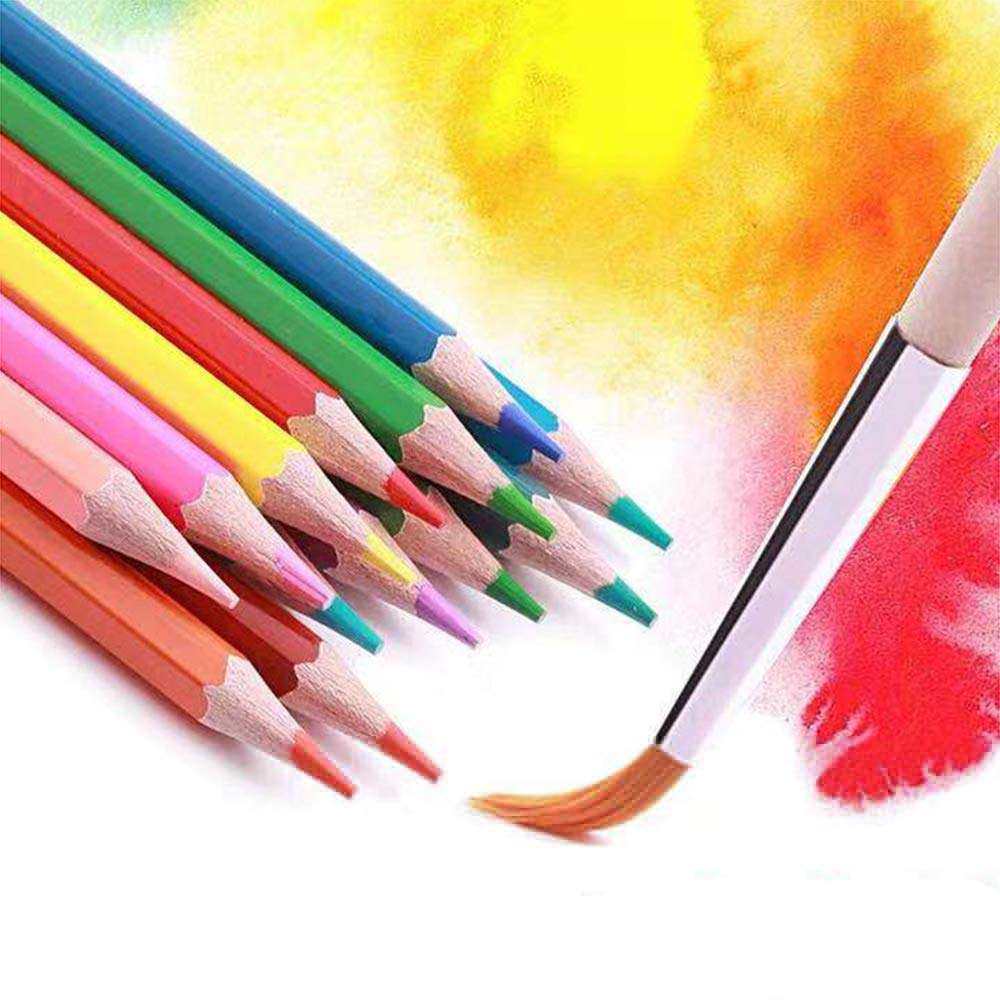 AJJDL AJJDL AJJDL Ölig Kinder & Erwachsene Buntstifte Brillanten Farben Bleistift Set Nicht giftig Qualitätsbauholz mit Rollbaren Canvas Tasche für B07QK9MGYV | Online einkaufen  7d16ae