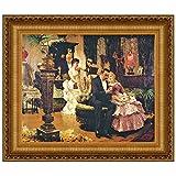 Design Toscano The Conversation Piece Canvas Replica Painting: Medium
